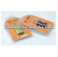 Aleación de seguro de bloqueo de la maleta HTL335
