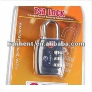 Nuevo diseño barato maletas de bloqueo HTL335