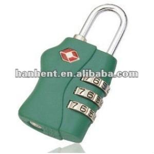 De Metal 3 tsa dial viajero equipaje de bloqueo