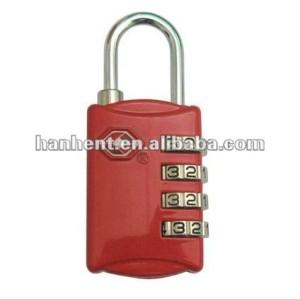 De Metal 4 tsa dial viajero equipaje de bloqueo