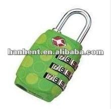 De seguridad tsa del equipaje de bloqueo HTL331