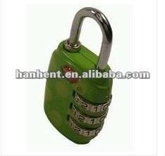 De seguridad tsa equipaje coded lock HTL331