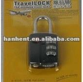 Internacional de viaje equipaje cerradura de la correa