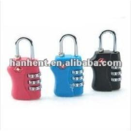 Seguro y popular tsa cerradura de combinación HTL338