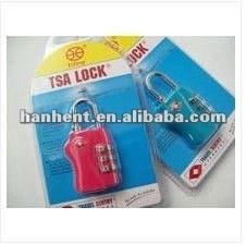 Popular de plástico cerradura de combinación HTL338