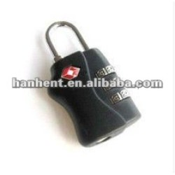 Nouveau design coded cadenas tsa HTL338