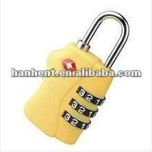 Seguridad tsa aprobado coded lock HTL338