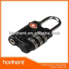 Promoción de la navidad tsa cerradura de combinación HTL338