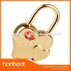 Forme de coeur bonne qualité valise cadenas tsa