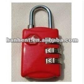 Tsa del equipaje del recorrido de bloqueo sin llave