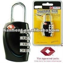 Tsa combinación 3-dial TSA bloqueo