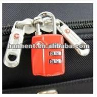 3-dial TSA bagages de serrure de haute sécurité