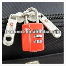 Cerraduras de equipaje para viajes internacionales