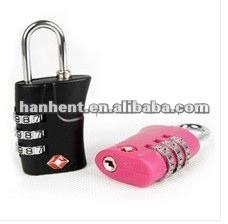Segura restablecer equipaje de viaje lock