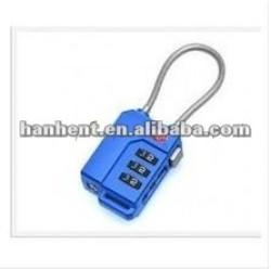 Mode 3 dial tsa bagages de verrouillage