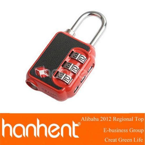Security lock equipaje tsa