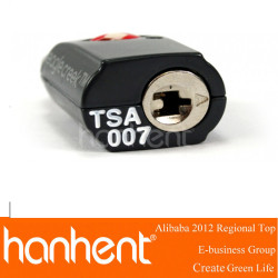 Tsa 3-dial combo câble de verrouillage