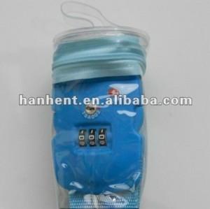 Secutiry equipaje de la correa con 3-digit cierre tsa