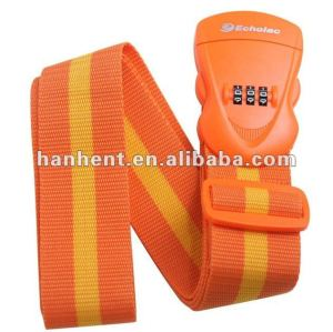 Combinación equipaje cerradura de la correa HTL21016