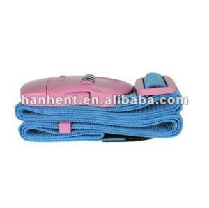 Durable tsa bolsas de equipaje de la correa de bloqueo