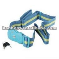 Haute qualité 3 cadran luggage strap cadenas tsa