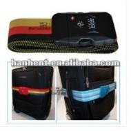 2012 mode luggage strap cadenas tsa, Polyster