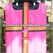 2012 de moda de poliéster equipaje de la correa