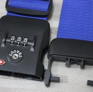 Tsa319b cierre TSA 3-Dail equipaje de la correa