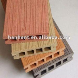 Madera natural buscando compuesto de madera piso decking