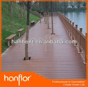 Industrial piso de plástico que cubre la cubierta de madera piso