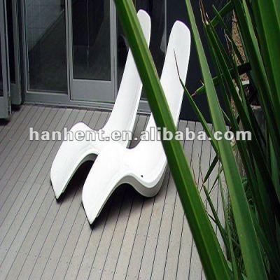 Wpc terrasse extérieure plancher