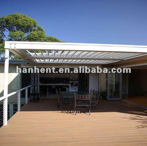 300 X 300 exterior WPC cubierta de piso