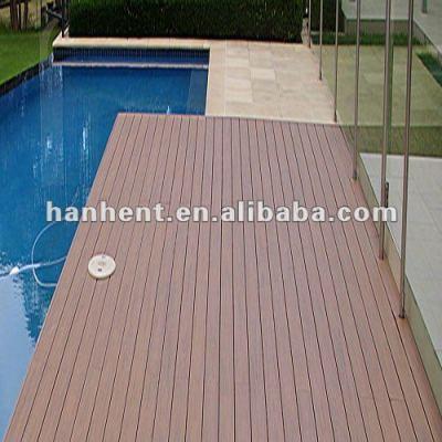 Más opción del color wpc del hogar de suelo cubiertas