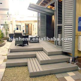 Wpc del hogar de suelo cubiertas
