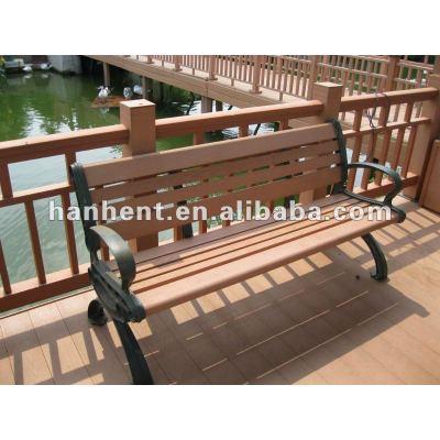Jardin chaise wpc revêtement de sol carrelage