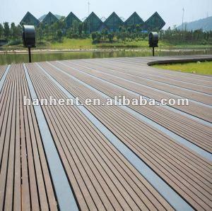 Reciclado bajo precio de madera del wpc suelo