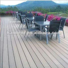 Respetuoso del medio ambiente 300 x 300 wpc decking exterior