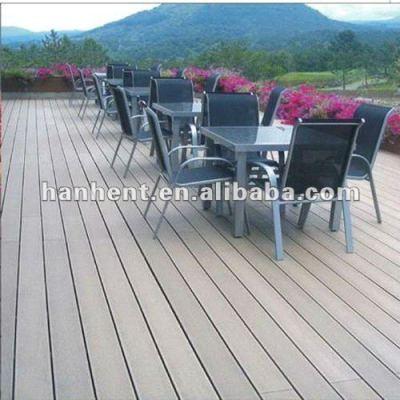 Écologique 300 x 300 wpc platelage extérieur