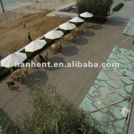 300 x 300 decking compuesto plástico de madera