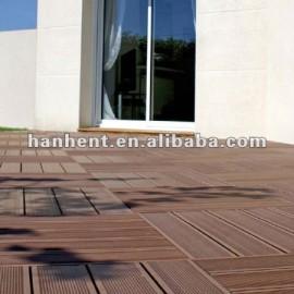Exterior decorativo WPC fácil cubierta del azulejo