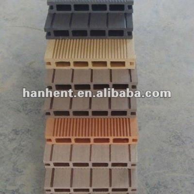 Decoración exterior compuesto plástico de madera