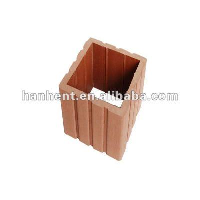 Wpc compuesto de suelos de tabla de la plataforma de tapa