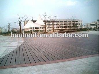 Wpc decking para exterior decoración