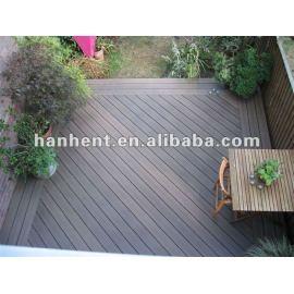 Popular alibaba wpc exterior de mesa piso