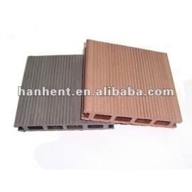Buen precio wpc compuesto plástico de madera suelos de exterior