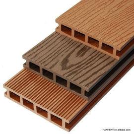Plástico de madera compuesto decking