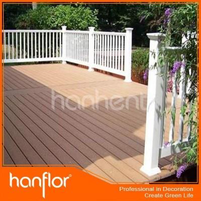 2015 el más nuevo estilo de madera compuesta decking