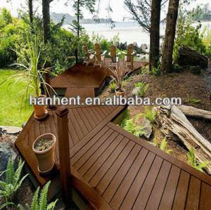 Calor resistente al frío compuesto plástico de madera cubierta
