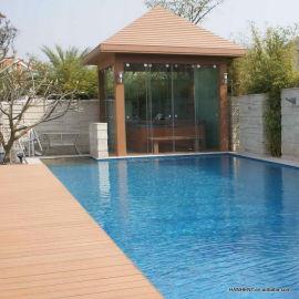 De plástico hueco de la piscina cubiertas