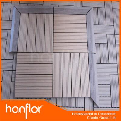 De madera de azulejos decking de